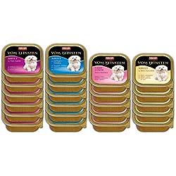 Animonda Vom Feinsten Adult, Nassfutter für ausgewachsene Hunde von 1-6 Jahren, Mix 2 aus 4 Sorten, 22 x 150 g