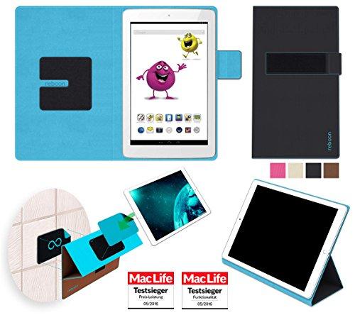 reboon Hülle für Odys Junior Tab 8 Pro Tasche Cover Case Bumper | in Schwarz | Testsieger