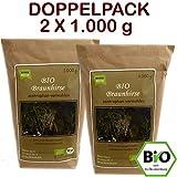 BIO Braunhirse Gemahlen | VORTEILSPACK (2 x 1.000 g) | Vom Biohof Beck | Wildform | Urhirse | Kalt-Vermahlen