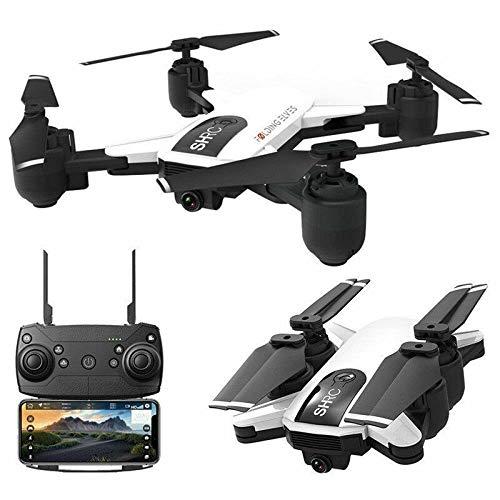 Drohne x Pro 5G Selfi WiFi FPV GPS mit Kamera 1080P HD Faltbarer RC Quadcopter (Weiß)
