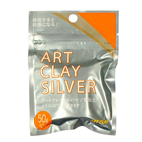 Art Clay, New Formula, silber Ton, 50g (Silber Art Clay)