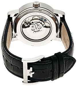 Thomas Earnshaw ES-8027-01 - Reloj de automático para hombre, con correa de cuero, color negro de Thomas Earnshaw