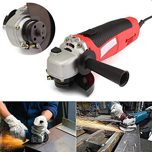 """LKSDD Winkelschleifer, 230V 650W Hand Elektrische Winkelschleifer 115mm 4.5\"""" Heavy Duty Schleifen Power Tool für Holz Metall Schneiden und Polieren"""