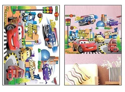 3 D Wanddekoration Wandtattoo Wandaufkleber Wandsticker Disney Cars