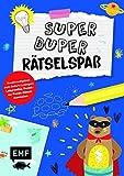 Super-duper-Rätselspaß!: Kreativaufgaben zum Sofort-Loslegen: Labyrinthe