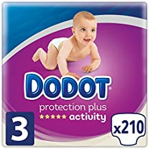 Dodot Protection Plus Activity - Pañales Talla 3 (6-10 kg) - 210