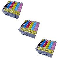 Prestige Cartridge T0801-T0806 18 Cartucce d'Inchiostro Compatibile per Stampanti Epson