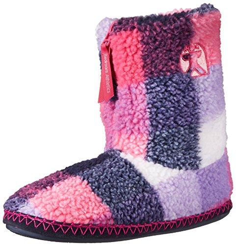 Bedroom Athletics MacGraw, Pantofole fodera calda uomo, multicolore (Multicolore (Navy/Pink)), M