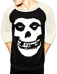 C.I.D. Men's Misfits-Skull T-Shirt