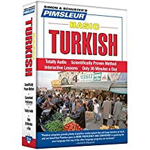 Pimsleur Turkish Basic Course - Level 1 Lessons 1-10 CD: Learn to Speak and Understand Turkish with Pimsleur Language Programs (Simon & Schuster's Pimsleur)