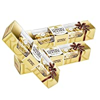 Ferrero Rocher Chocolate 4 Pieces (Pack of 3)