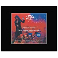 TARJA - Colours In The Dark Matted Mini Poster - 18.2x21.8cm