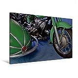 Premium Textil-Leinwand 120 x 80 cm Quer-Format Zündapp KS 601 | Wandbild, HD-Bild auf Keilrahmen, Fertigbild auf hochwertigem Vlies, Leinwanddruck von Ingo Laue (CALVENDO Mobilitaet)