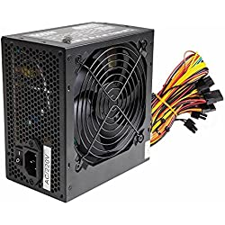 Silence 500W ATX PC Power Supply PSU With 12CM Silent Fan And SATA / 2
