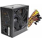 Black 500W ATX PC Power Supply PSU With 12CM Quiet Fan And 3 x SATA / 24-PIN / 4-PIN 12V / 2 x MOLEX / 1 x Floppy