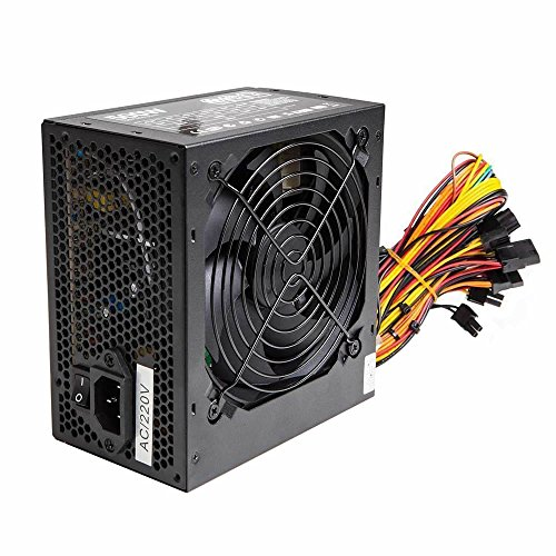 Silence 500 W ATX PC Power Supply PSU with 12 cm Silent Fan and SATA/24 broches/4 broches molex, [Import anglais]