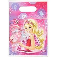 Amscan Schuhe Party Taschen (6-teilig, Barbie Pink)