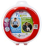 Potette Plus 2-in-1 Portable Potty (Red/Blue)