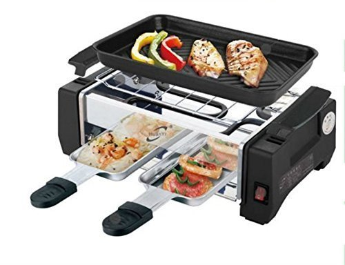 Cherry Deluxe Huan Yi Compact Electric Barbecue Grill And Tandoor  available at amazon for Rs.1299