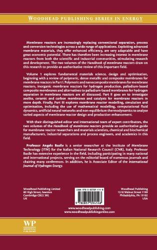 1: Handbook of Membrane Reactors: Fundamental Materials Science, Design and Optimisation (Woodhead Publishing Series in Energy)