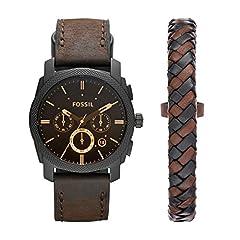 Idea Regalo - Fossil, orologio da uomo, FS5251SET