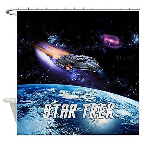 Star Trek Defiant NG Queen Bettbezug–Dekostoff Vorhang für die Dusche