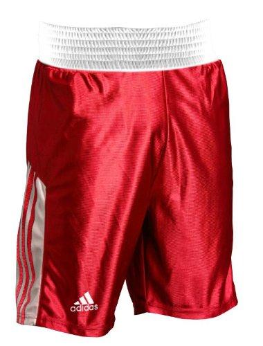 Adidas - Boxer Shorts Großes Elastisches Taillenband Boxer Training Shorts Größen S - XXL - Rot, S