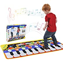 Alfombra de Piano, Alfombra Musical de Teclado T¡§¡éctil, 5 Modes