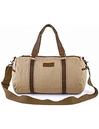 Gootium Canvas Duffel Bag - Classic Duffle Weekender Travel Gym Tote 732e5bc4ffd43