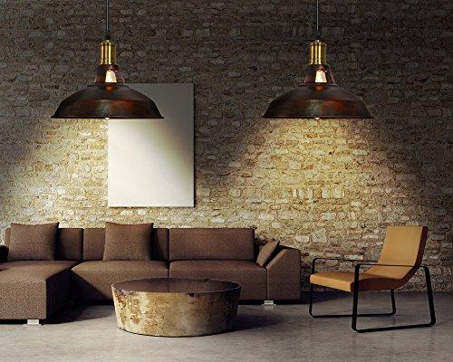 Fuloon lampadario vintage lampade a sospensione plafoniera in stile