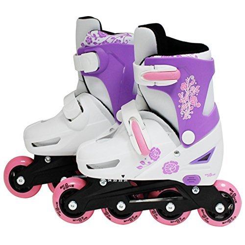 sk8-zone-girls-pink-roller-blades-inline-skates-adjustable-size-childrens-kids-pro-skating-new-small