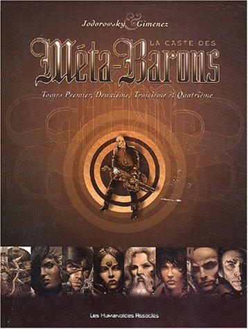 La Caste des Méta-Barons, tomes 1 à 4 (coffret 4 volumes)