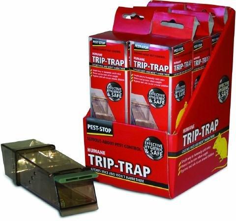 Preisvergleich Produktbild Pest Stop klare Trip Trap PSTTB (Peststop),  speziell entwickelt,  um den,  Mäusen möglichst wenig Schmerzen zuzufügen