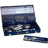 Exact 10722 Coffret tarauds et filières STM 15S tarauds à main M3-M12 et filières M3-M12 + accessoires (Import Allemagne)