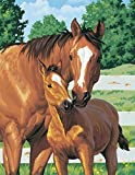 """Paint By Number Kit 11""""X14""""-Mother's Pride"""