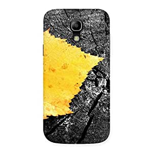 Impressive Leaf Lone Back Case Cover for Galaxy S4 Mini