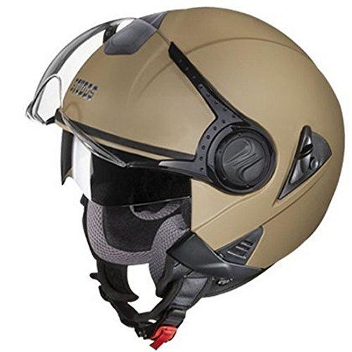 Studds Downtown Half Helmet (Desert Storm, L)
