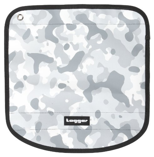 Tagger Envoy Flap Crew - Camo Winter BSLY 5001-410293-BSLY Unisex - Erwachsene Messengerbags, Weiss (BSLY), 30X22X10 cm (B x H x T)