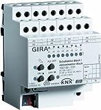 Gira 103700 Schalt Jalousieaktor 8-fach 4-fach 16 A KNX EIB REG