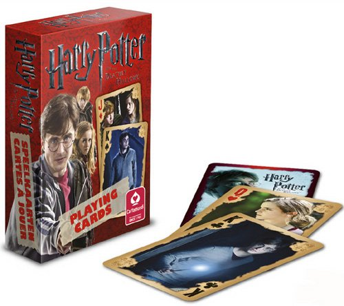 Click for larger image of Harry Potter and the Deathly Hallows Playing Cards