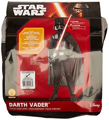Disfraz Darth Vader, para niños de talla 5-7 años Rubies 882009-M