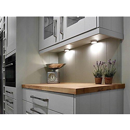 le 3er led schrankleuchten unterbauleuchte set insgesamt. Black Bedroom Furniture Sets. Home Design Ideas