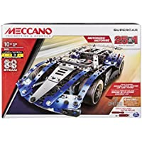 Meccano 6044495 25 Model Set – Coche de Carreras
