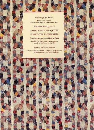 Geschenkpapier von Künstlerhand : Amerikanische Quilts; American Quilts (Quilts Amerikanische)
