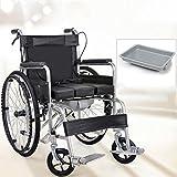 QXMEI Les Fauteuils Roulants Se Pliants Des Toilettes Portatives Pour Des Personnes âgées Handicapées Des Fauteuils Roulants Portatifs,A