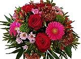 Blumenstrauß mit Wunschtermin | Rote Rosen in Premiumqualität | Gestaltet von Floristenmeisterin Diana Tröger | FLORISTENMEISTERBETRIEB SEIT 2012 mit zahlreichen AUSZEICHNUNGEN | TOP QUALITÄT | Blumensträuße werden über EXPRESSVERSAND gesendet | ,,Only for You,,
