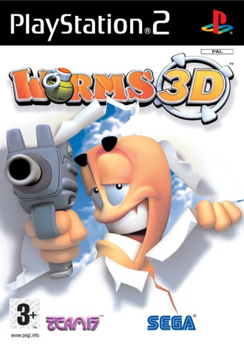 Worms 3D (Ps2) - Very Good Condition