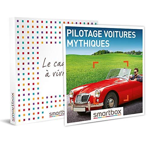 SMARTBOX - Coffret cadeau - Pilotage voitures mythiques - idée cadeau - 1 activité...