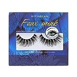 Bepholan 3D Faux Mink Lashes Mink Eyelashes Strip Eyelashes False Eyelashes Beauty Pack