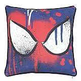 Disney Ultimate Spiderman 'Underground' Kissen, Quadratisch, Mehrfarbig